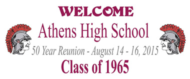 Athens High School Class of 1965 50 Year Reunion